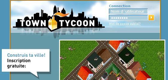 jeu par navigateur towntycoon