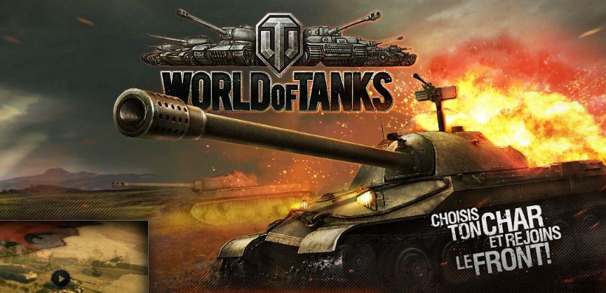 jeu mmorpg world of tanks