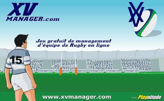 jeu par navigateur XV manager