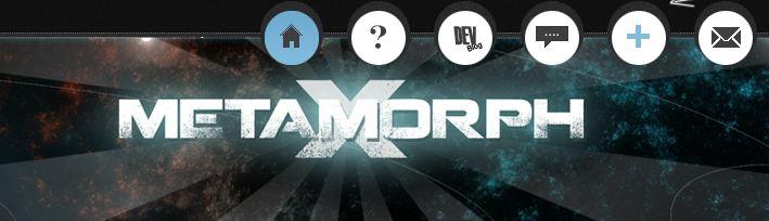 jeu sur navigateur metamorphX